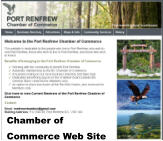 Chamber of Commerce Web Site